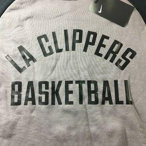 Nike Sweaters - Nike NBA LA Clippers Fleece Pullover Sweater Mens
